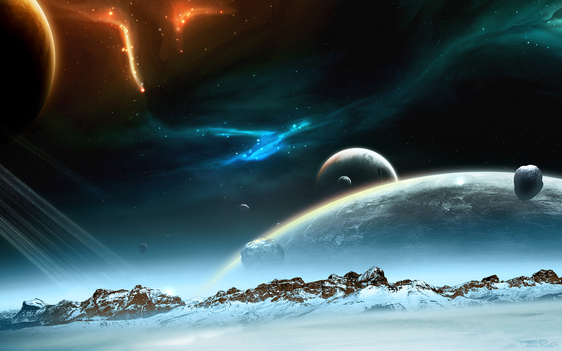 space hd 1920x1200 - photo #9