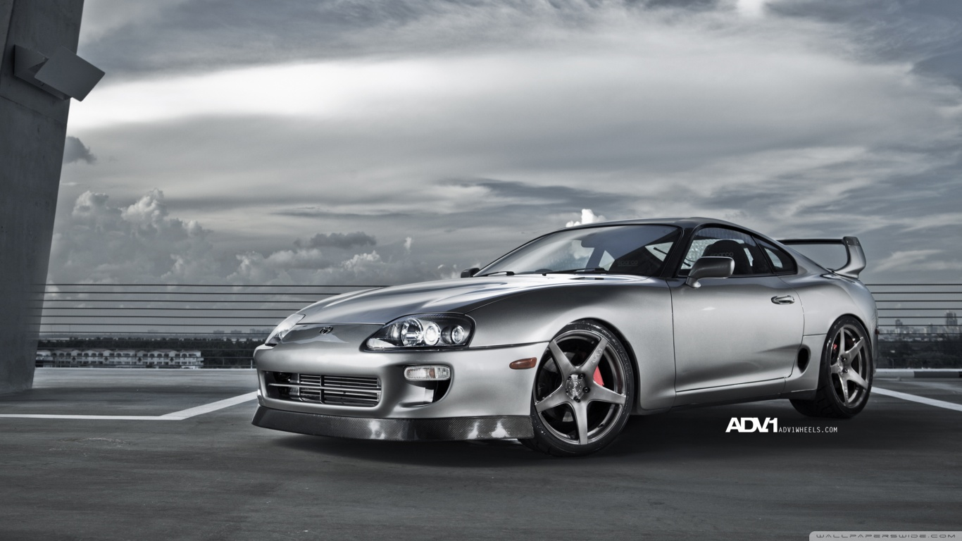 HD Toyota Supra Wallpaper