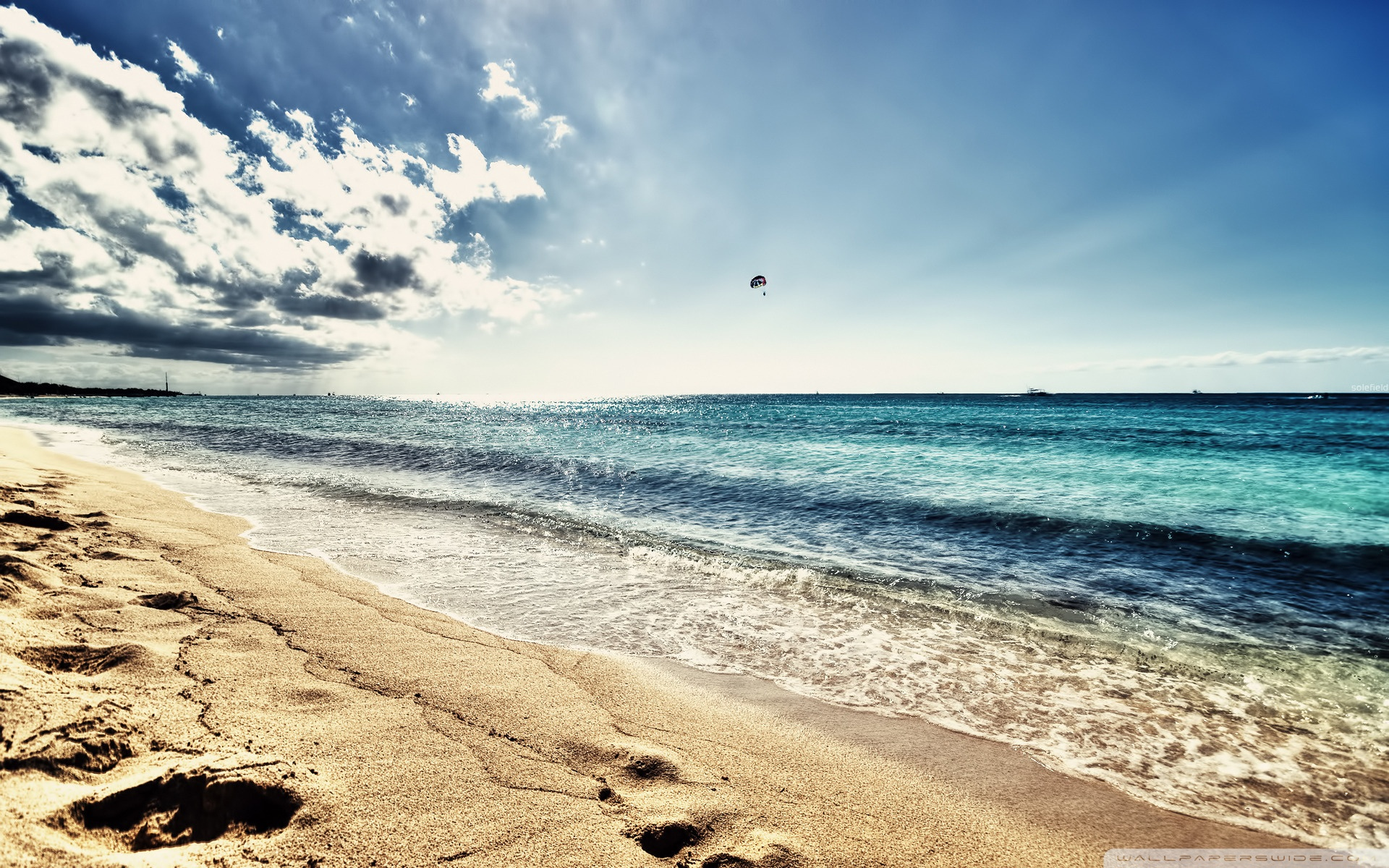 HDR Beach Wallpapers