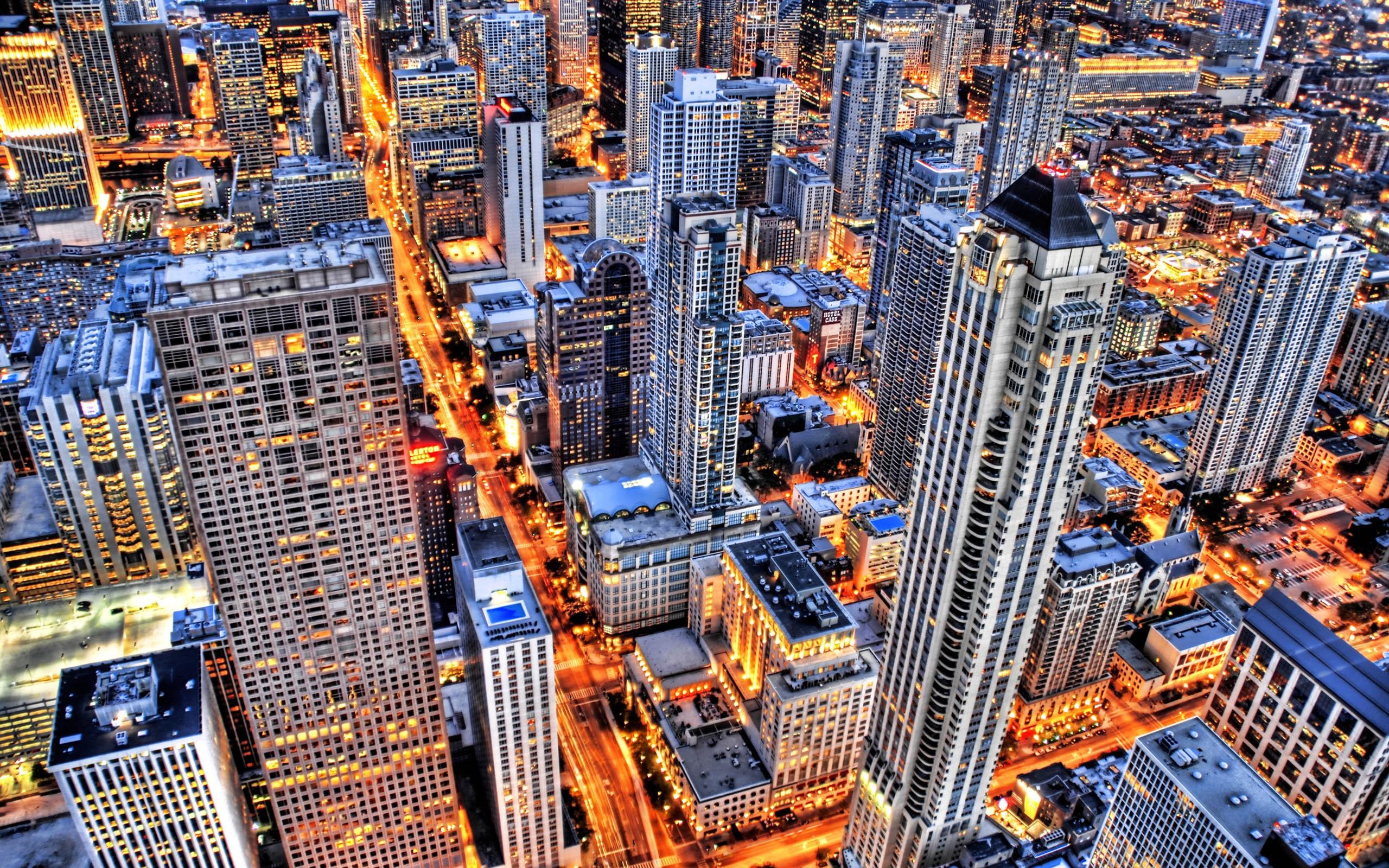 Hdr City Wallpaper 2560x1600