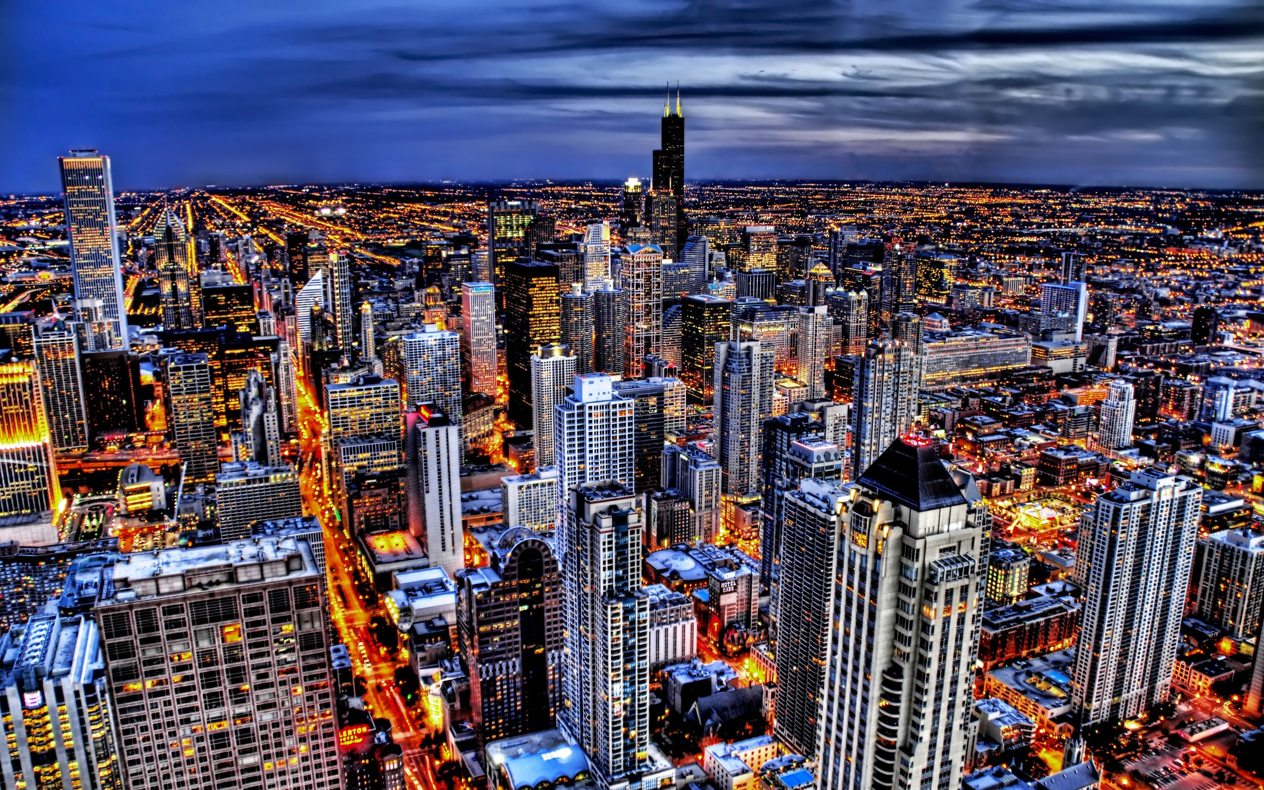 cityscapes skylines chicago hdr city buildings cityscape