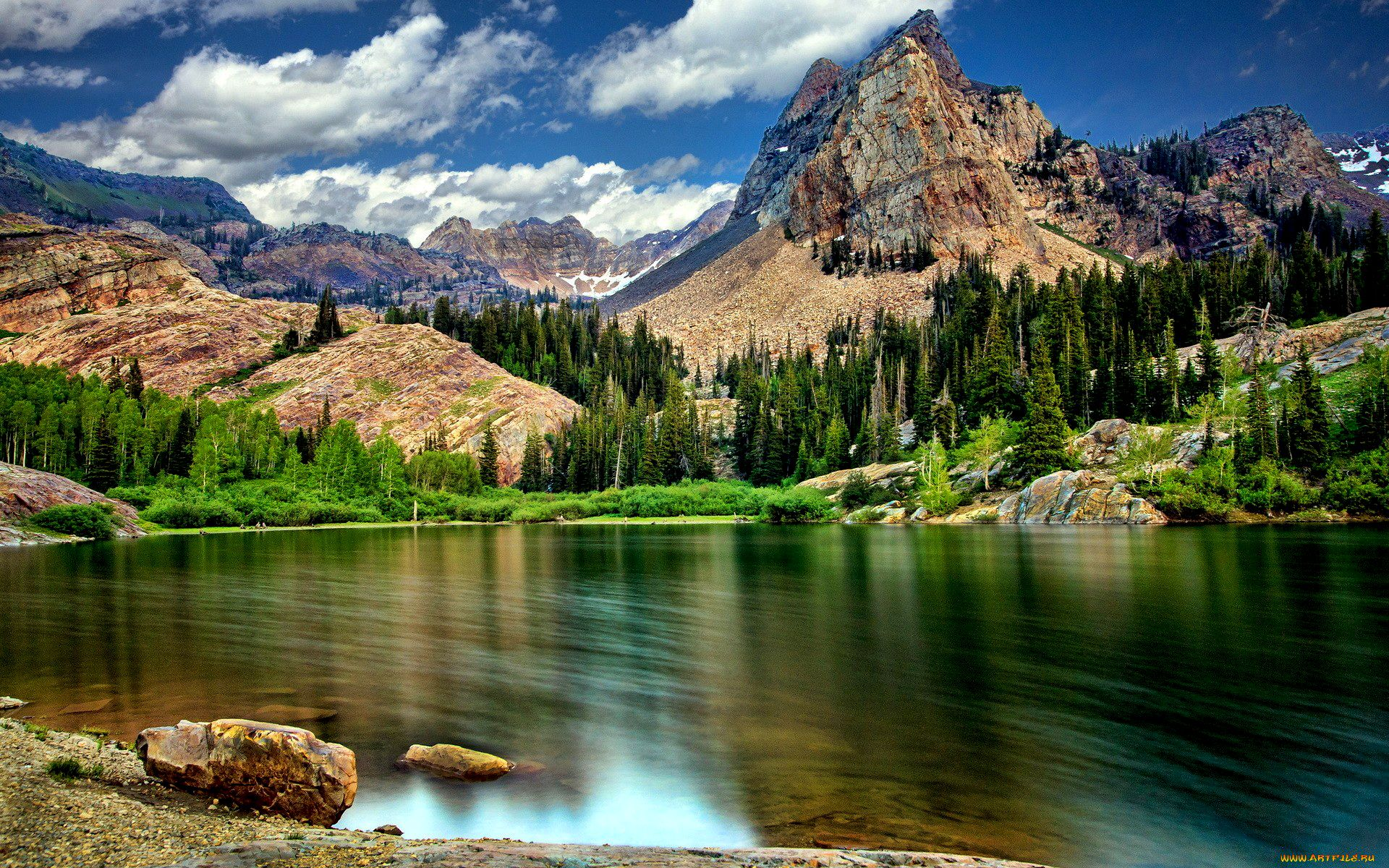 Wallpaper Dump.. HDR Nature-nature-landscapes_widewallpaper_superb-lake-lscape-hdr_19537