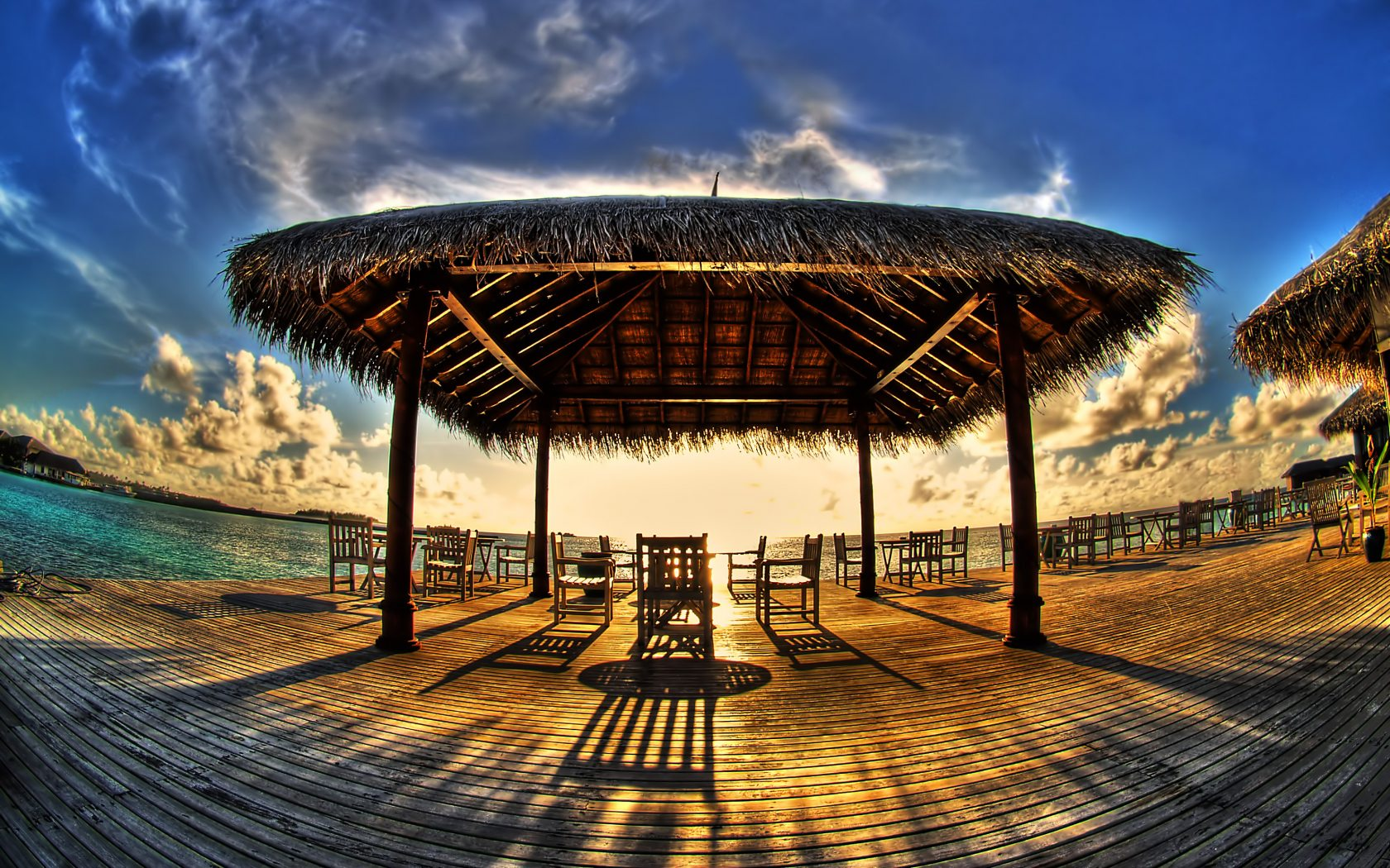 Beach HDR Photography