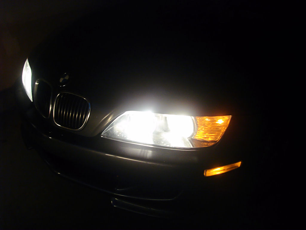 BMW M Coupe Headlights