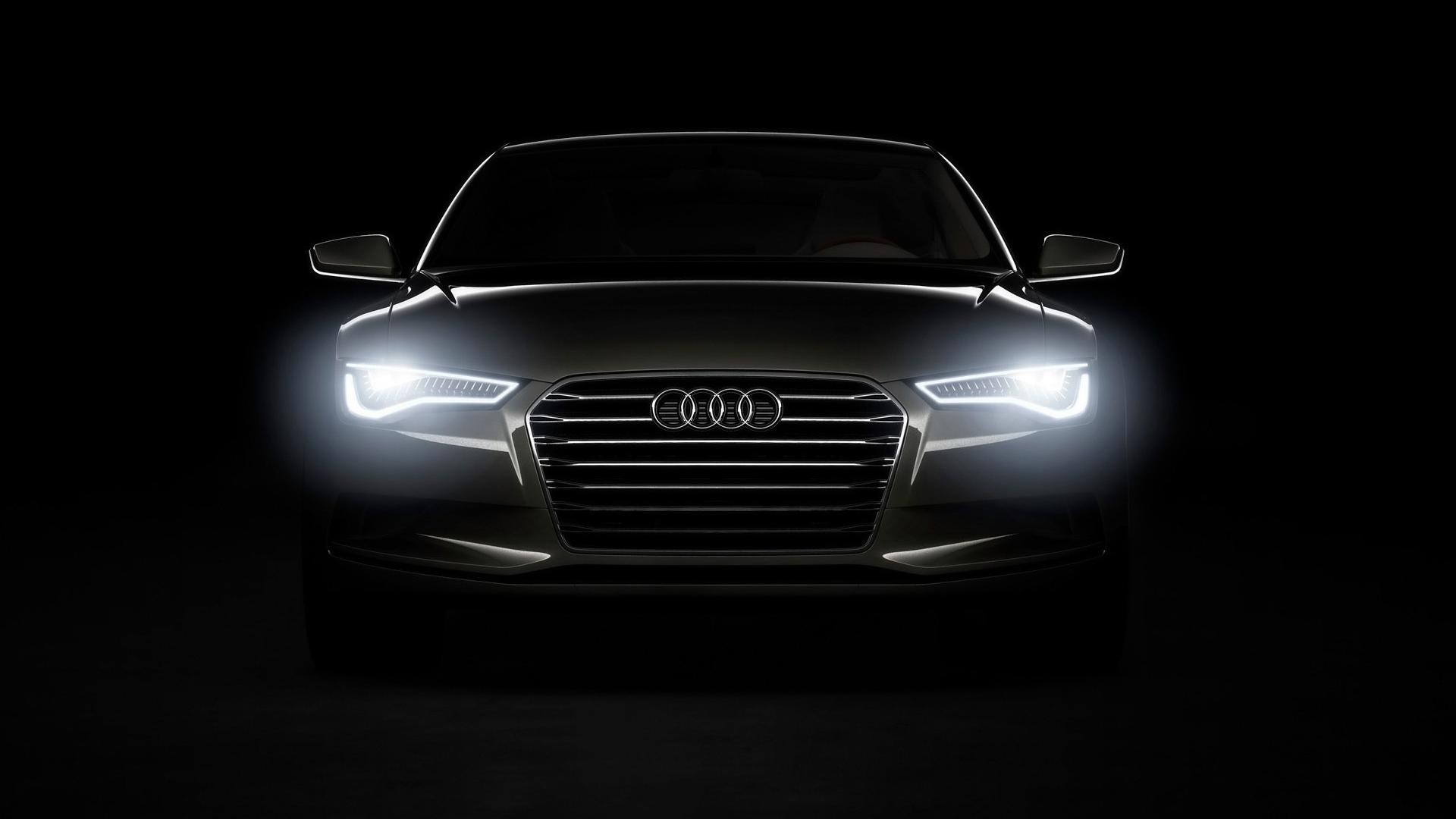 Audi Headlights HD Desktop wallpaper, images and photos