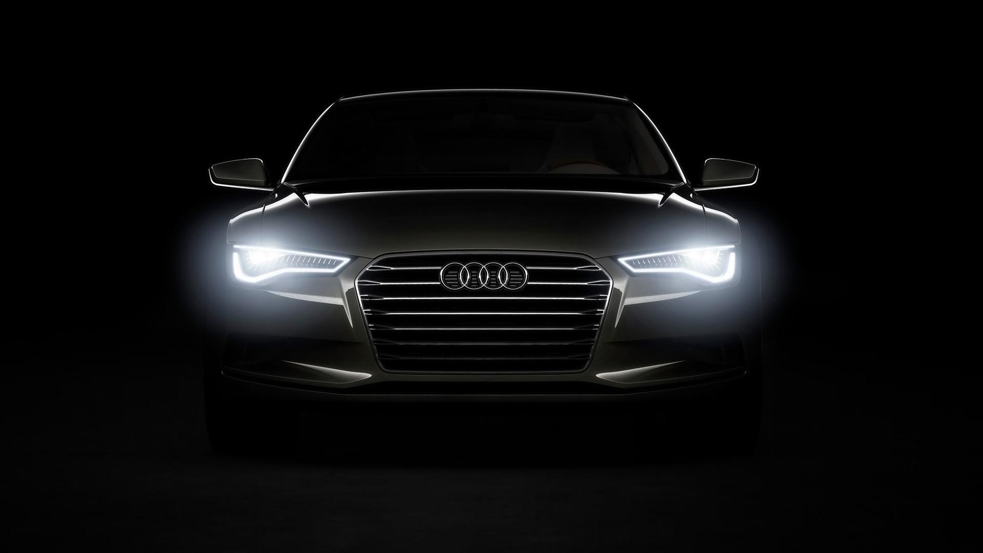 Audi Headlights HD Desktop wallpaper, images and photos