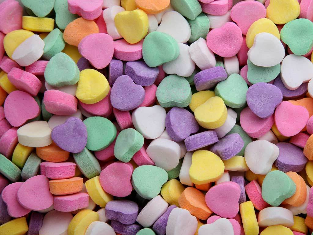 Heart Candy wallpaper | 1024x768 | #24612