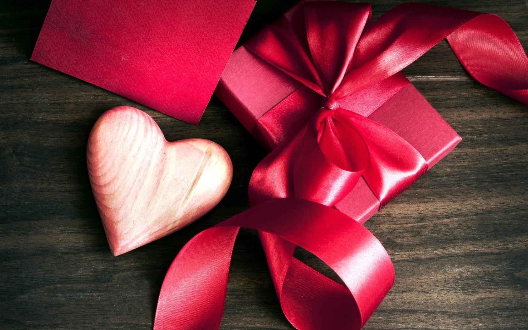 Heart Gift Ribbon Bow Box Love