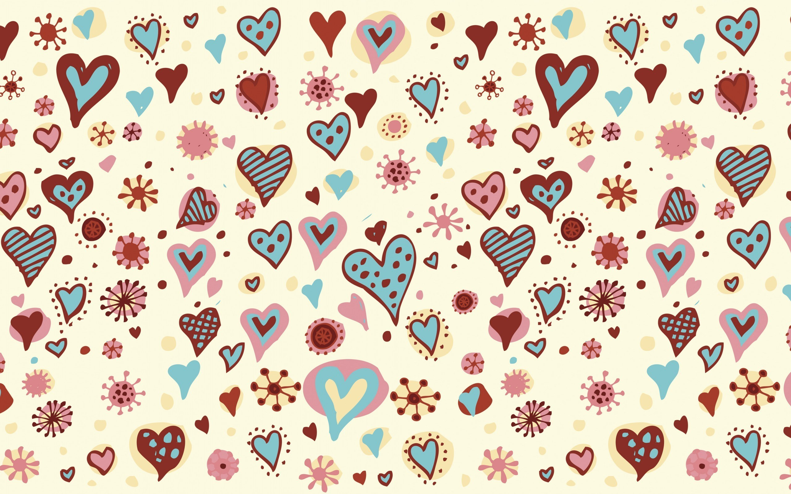 Hearts Love Texture