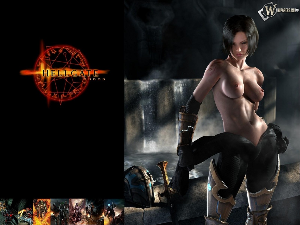 Favourite Anime Girl Horror Game Hellgate London Games Wallpaper