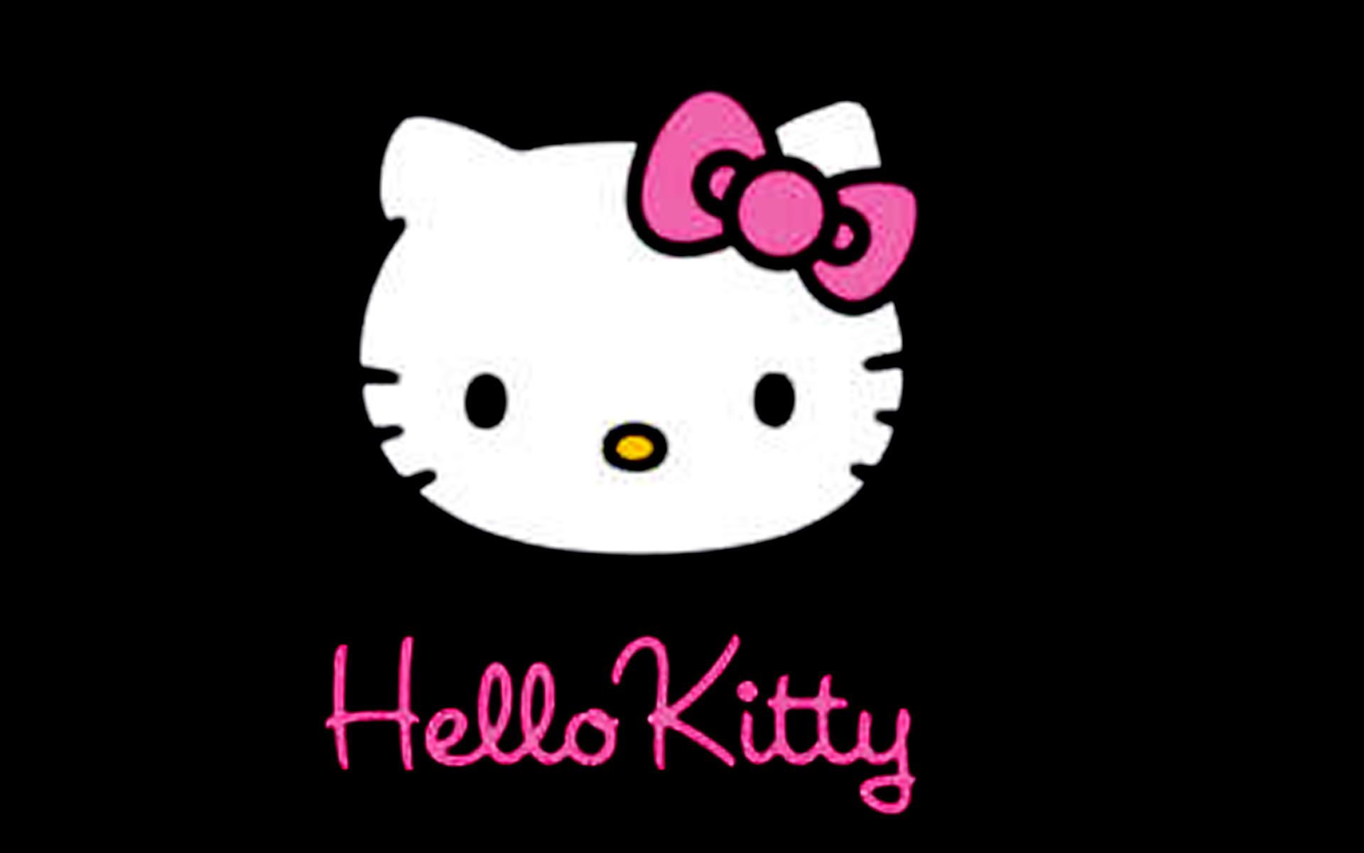 Hello Kitty Black Screensavers For Ios 7
