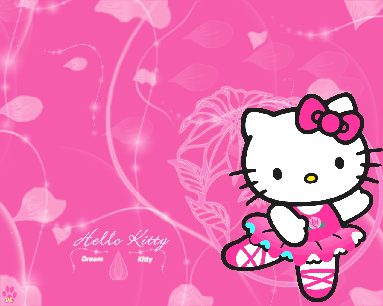 Hello Kitty Dream Desktop Wallpaper