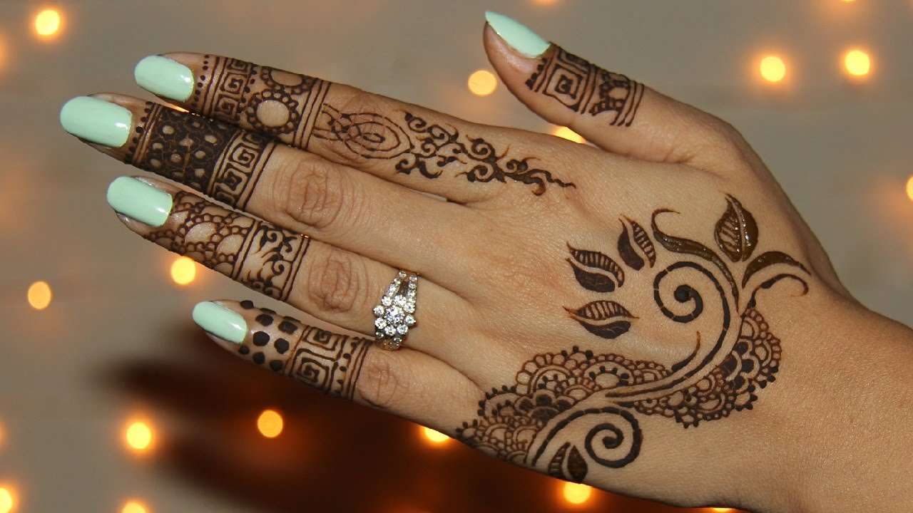 How To Draw Unique Henna/Mehendi Design