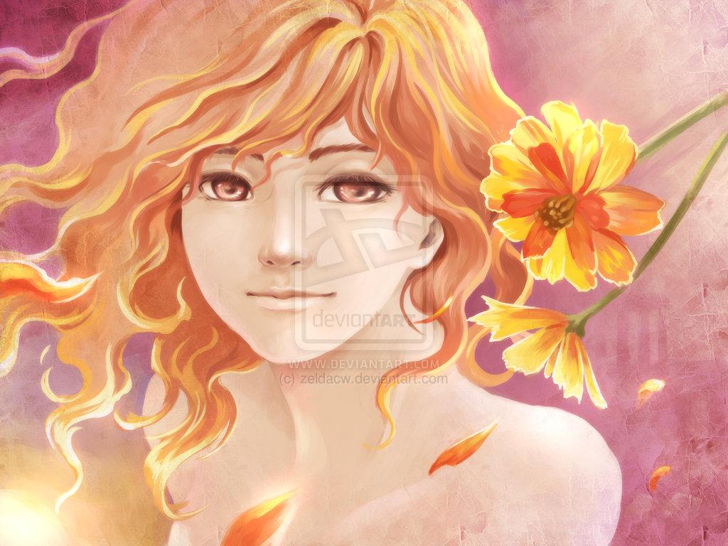 MYth Flowers: Hestia