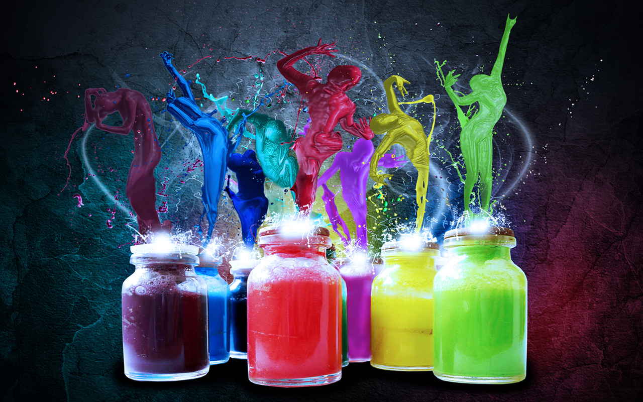 paint_dancers high quality computer background free abstract wallpaper