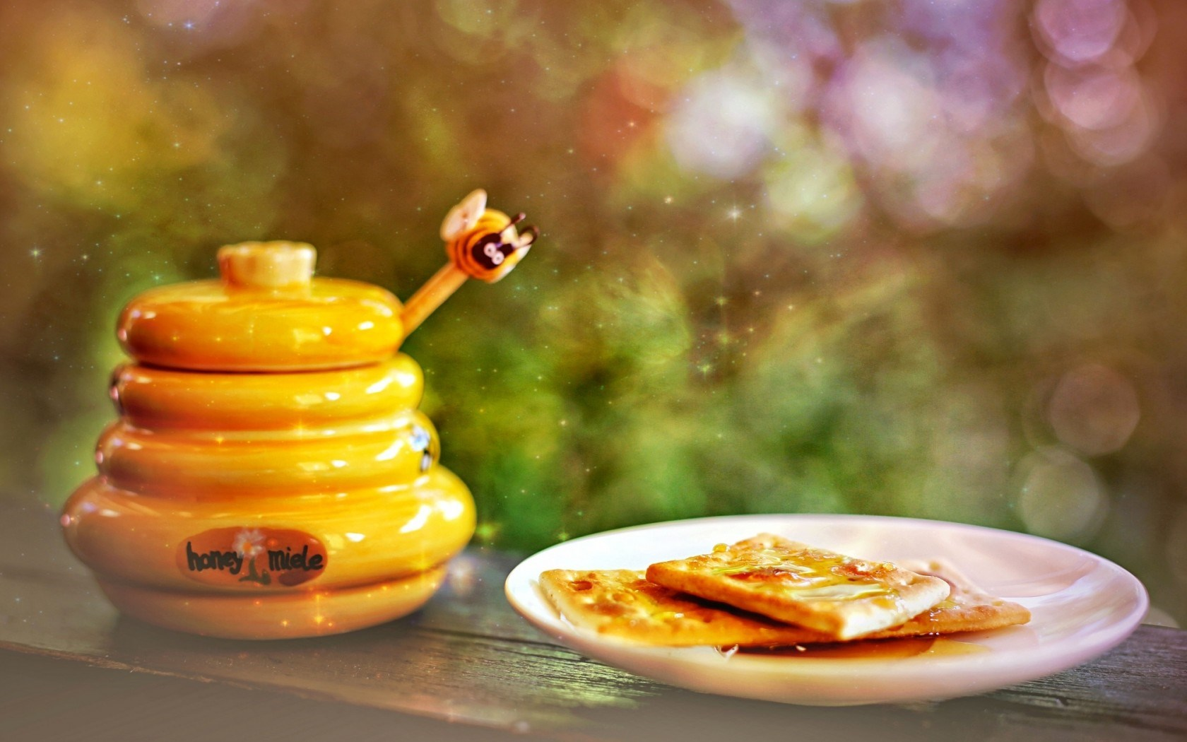 Honey Cookies Bokeh
