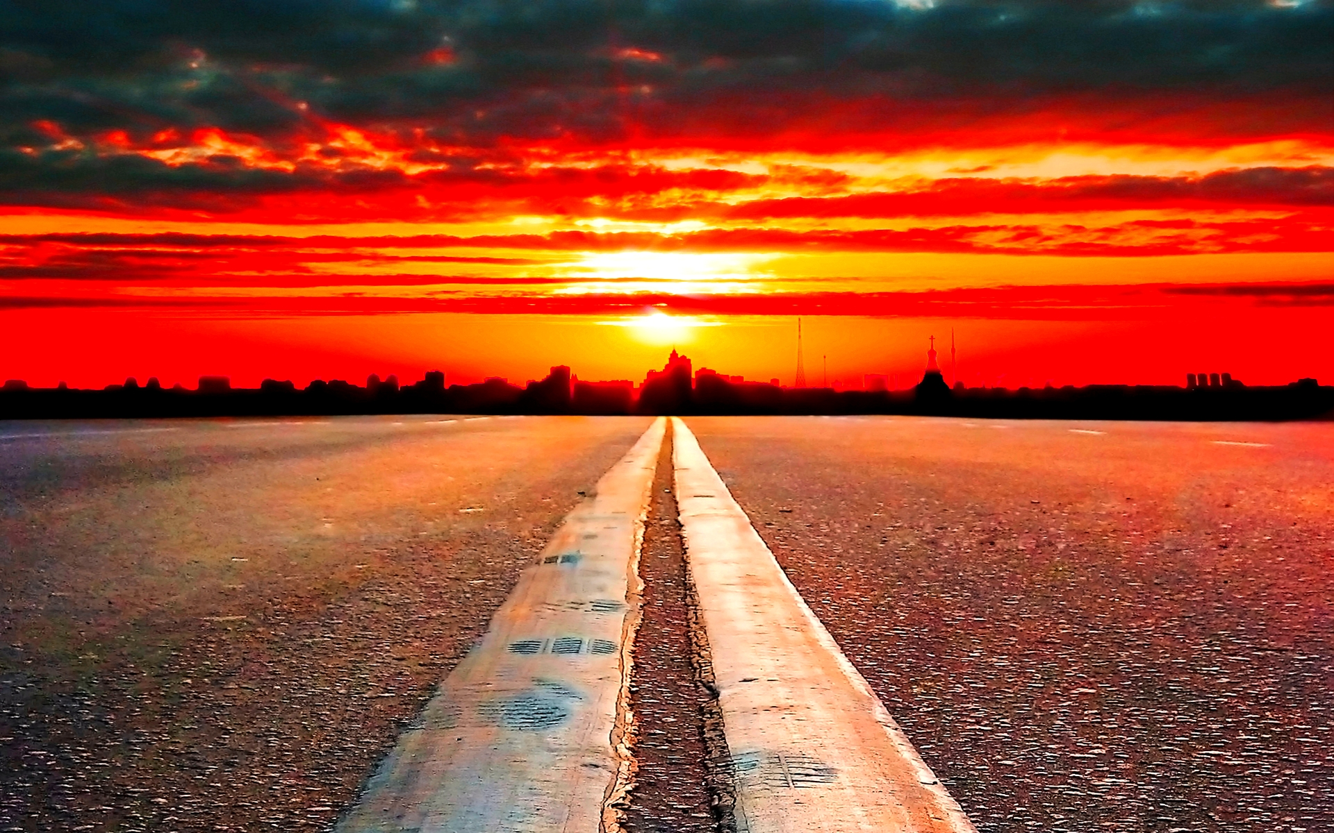 road to horizon