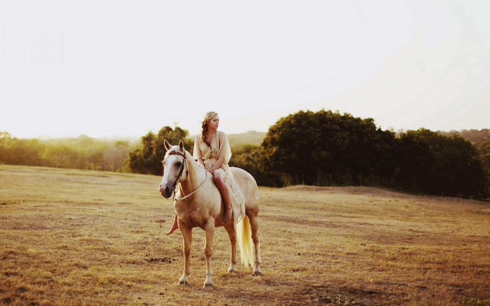 Horse Girl Field