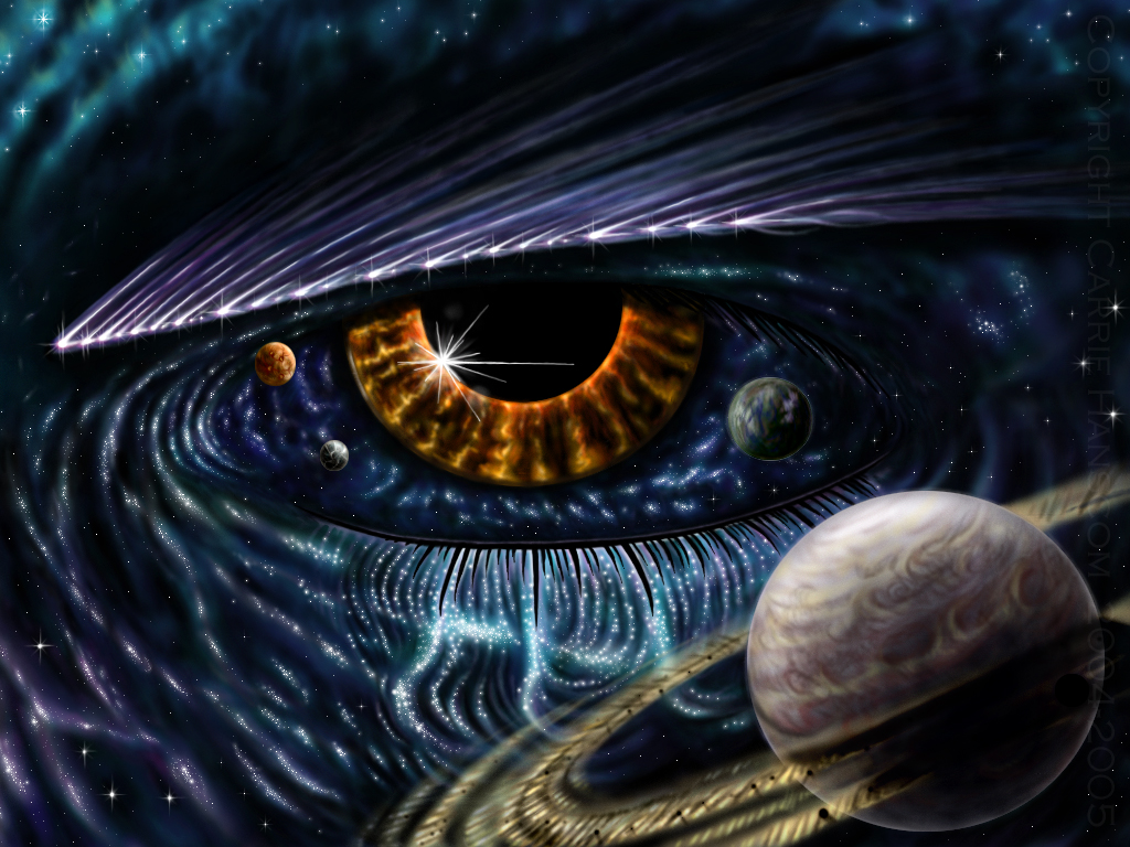Cat And Eye Of Horus