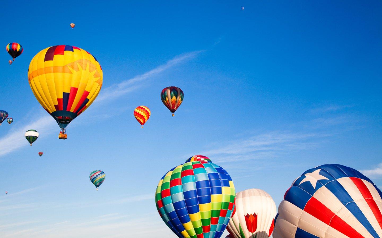 Hot Air Balloon Wallpaper