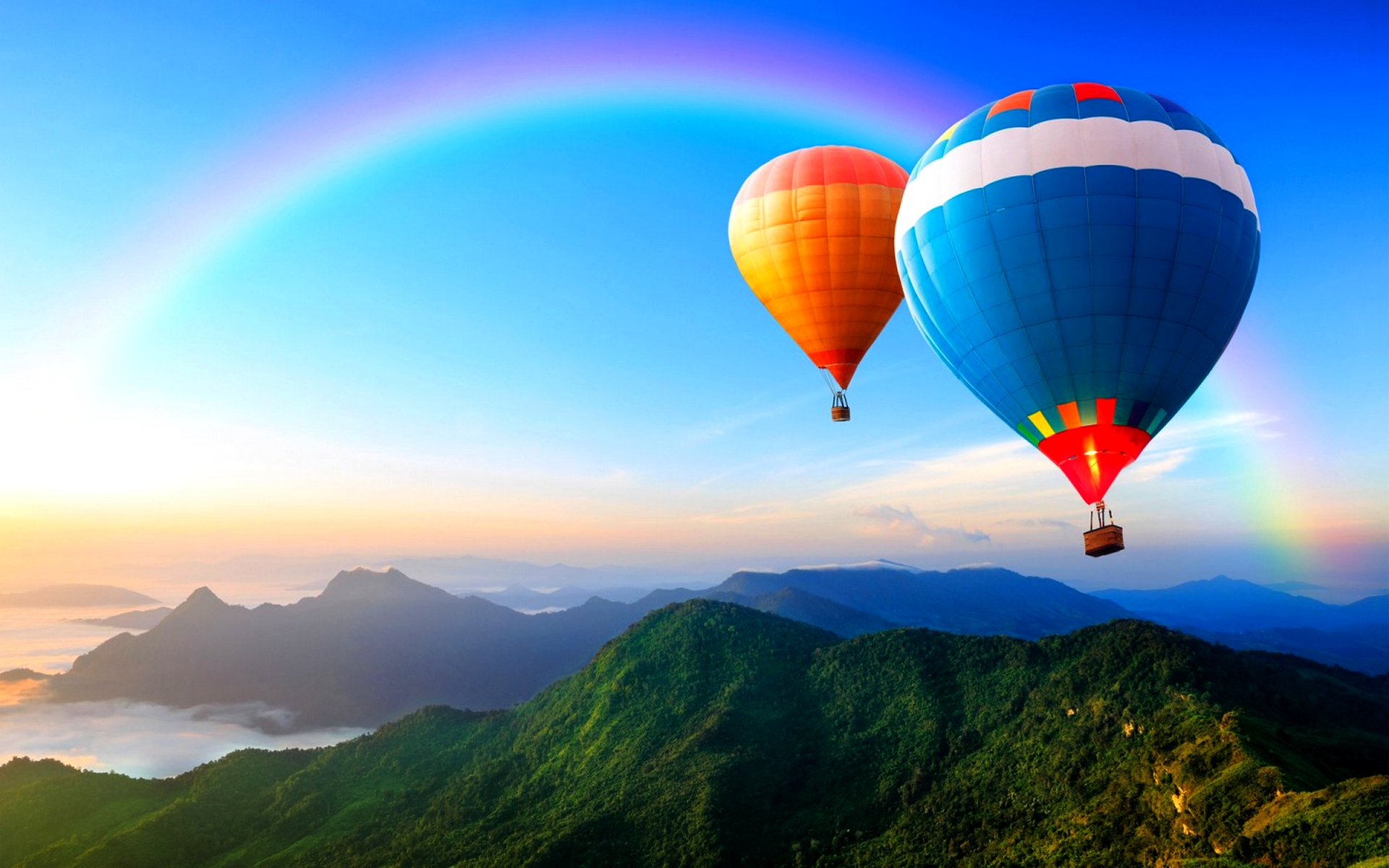 Stunning Hot Air Balloon Wallpaper 19613 1920x1200 px