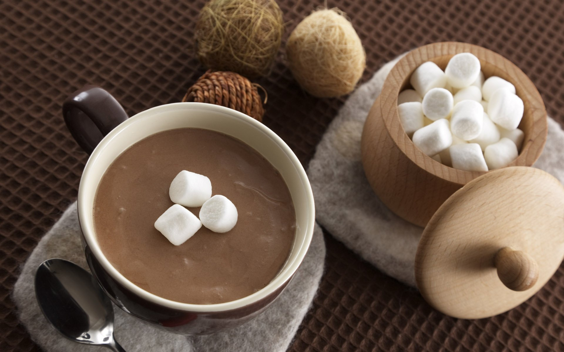 Hot Chocolate Background