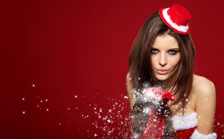 Hot christmas girl