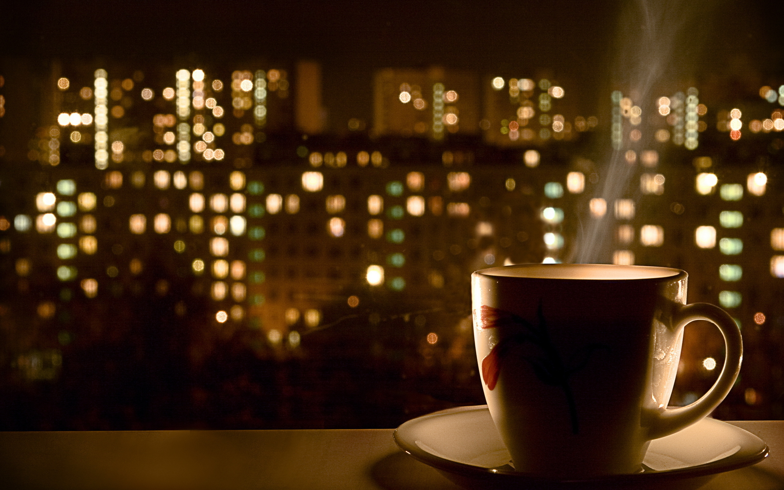 Hot Coffee Window