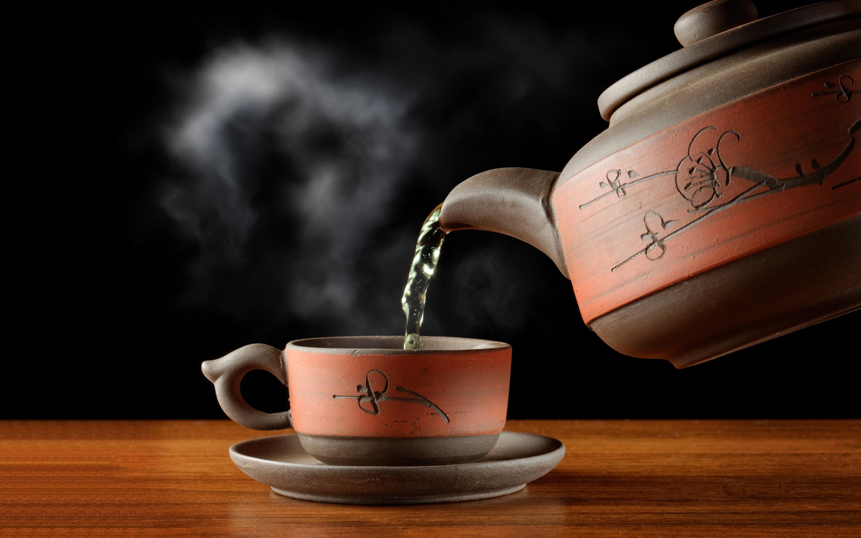Hot cup tea
