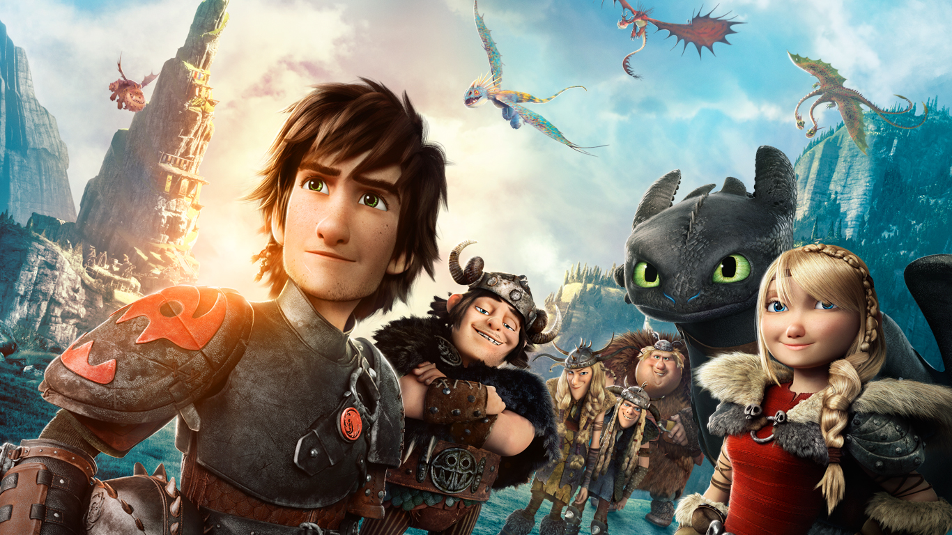 How To Train Your Dragon 2 Wallpaper 1366x768 54511