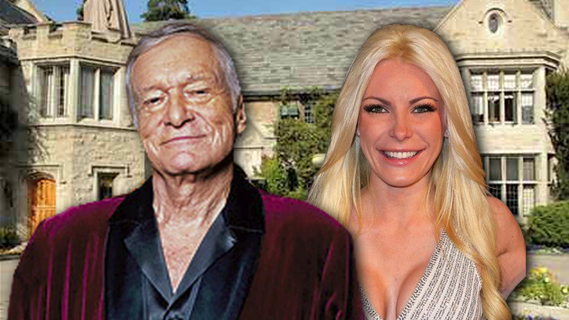 Hugh Hefner drops $5 million on house for wife Crystal Harris