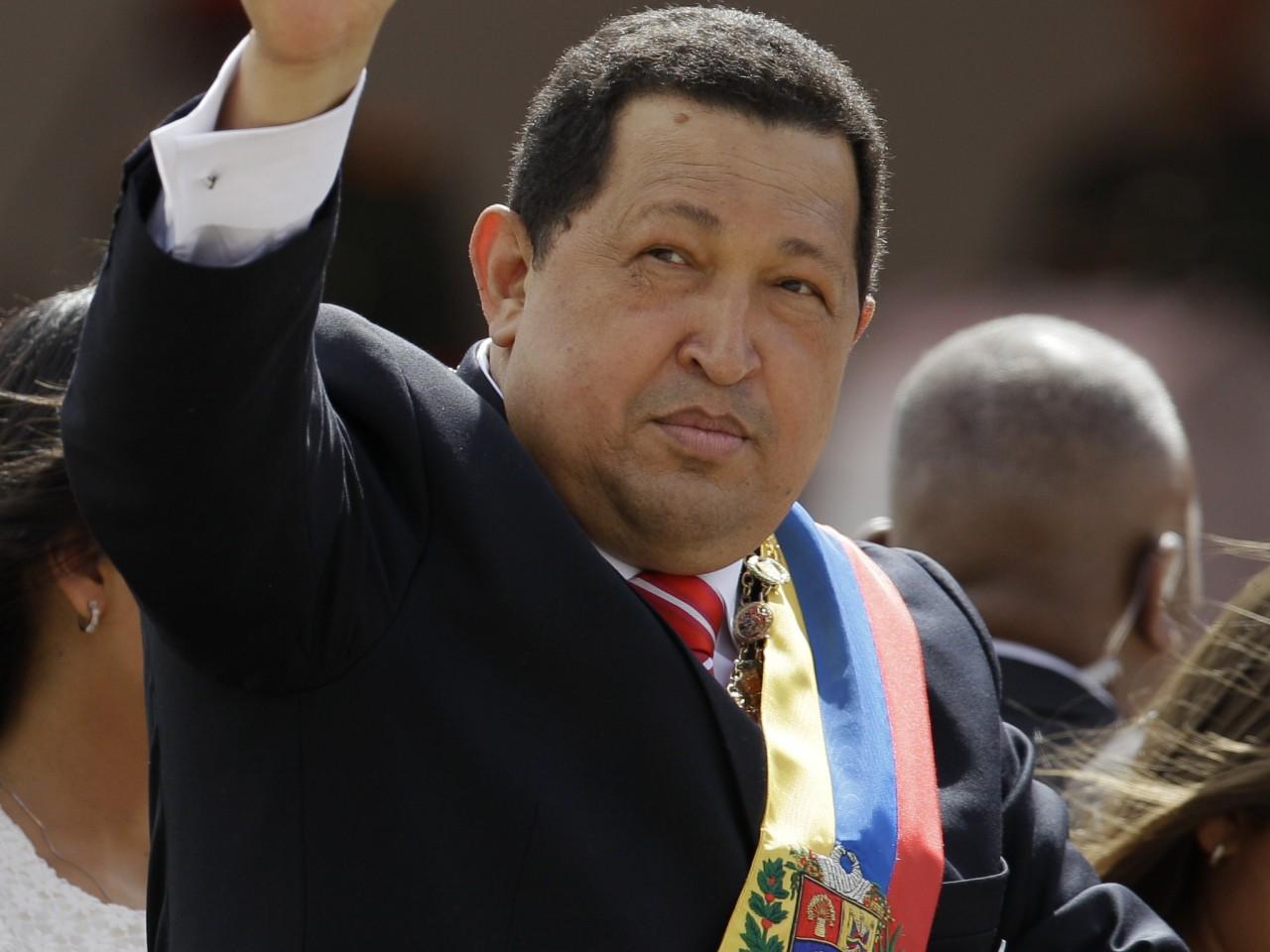 Madaxweynihii dalka Venezuela Hugo Chavez ayaa ku geeriyooday isbitaal ku yaal magaalada Caracas .