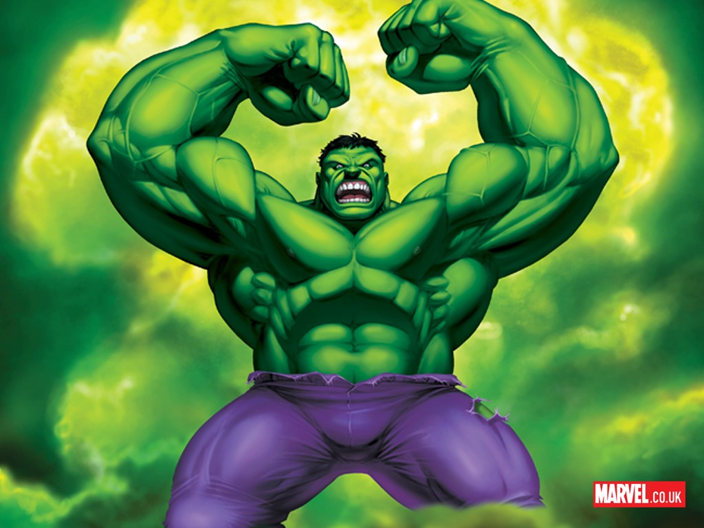 What is the weakness of The Hulk?