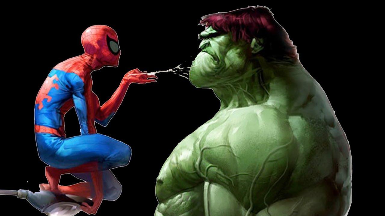 "The Amazing Spiderman VS The Incredible Hulk - ""Spiderman Vs Hulk"" GTA"