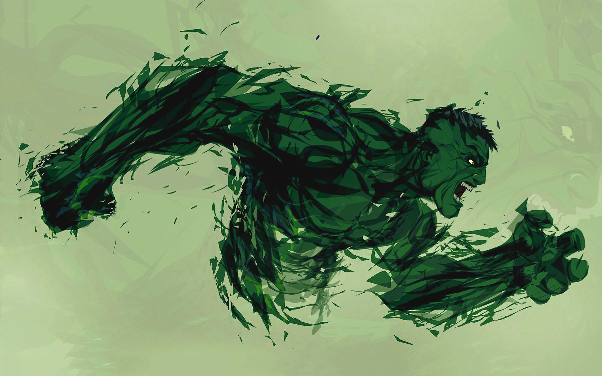 Hulk fan art