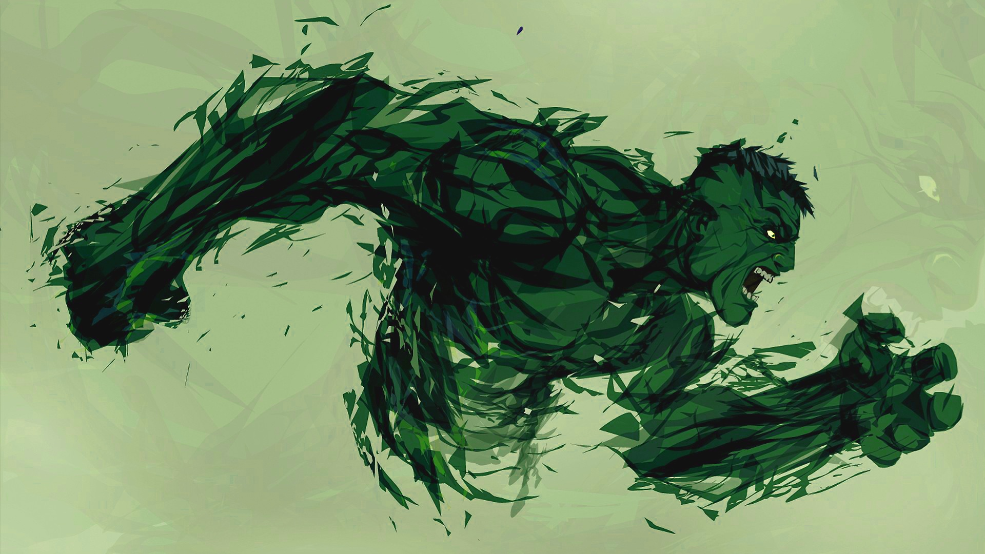 Hulk Art Wallpaper