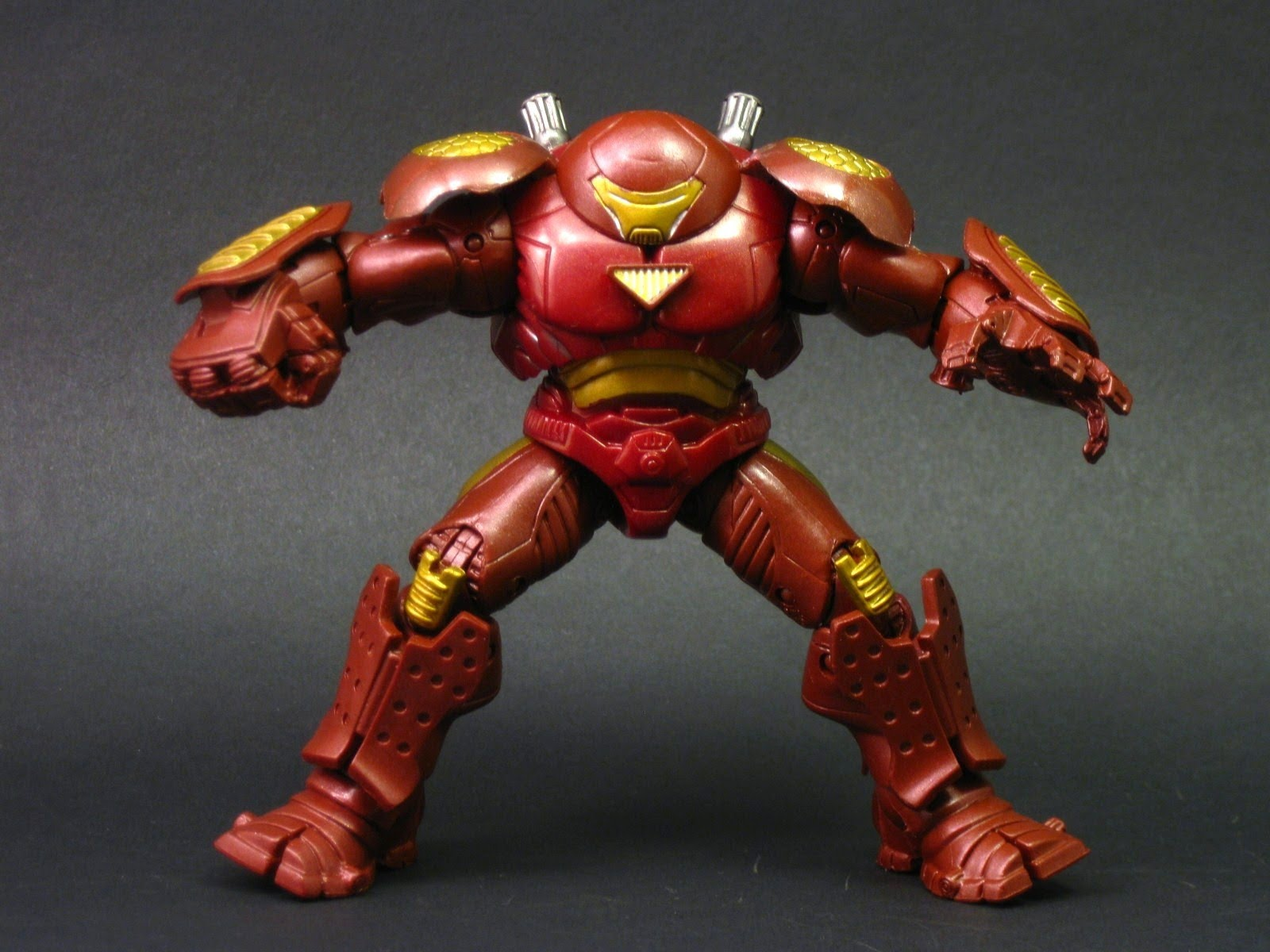 Lego Marvel Superheroes Hulkbuster Iron Man armour Powers