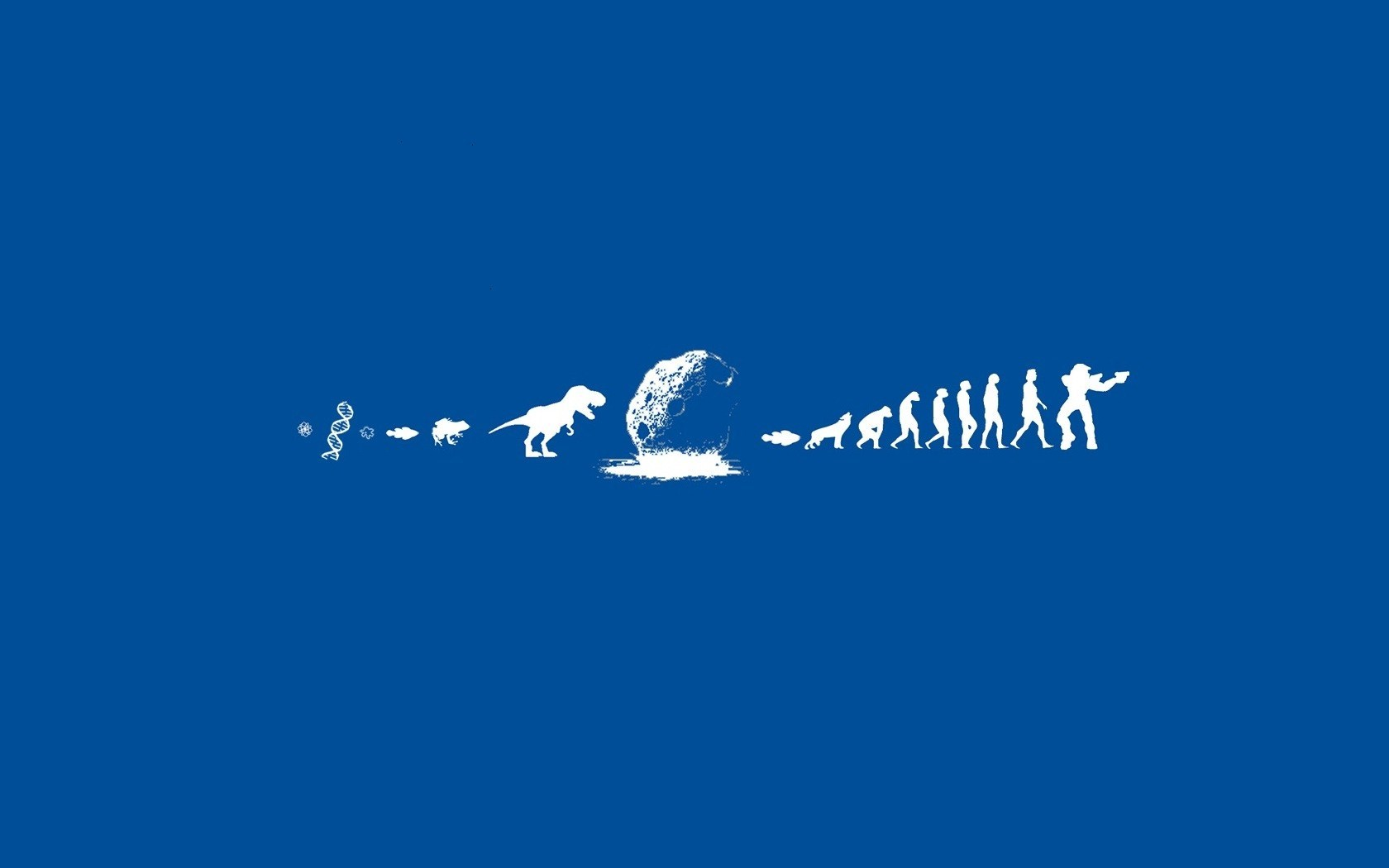Human Evolution Creative