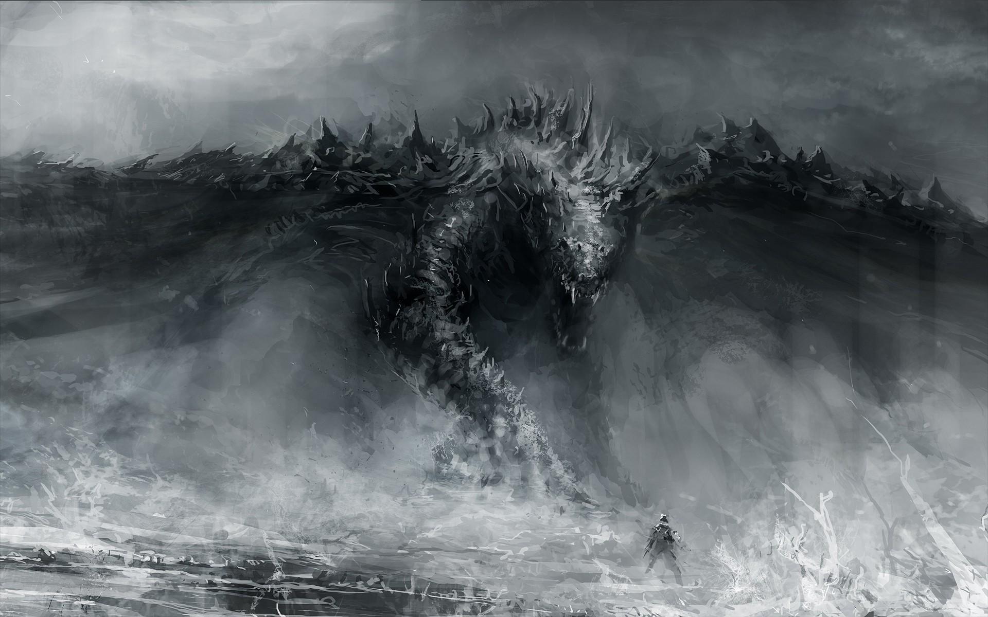 Human vs dragon
