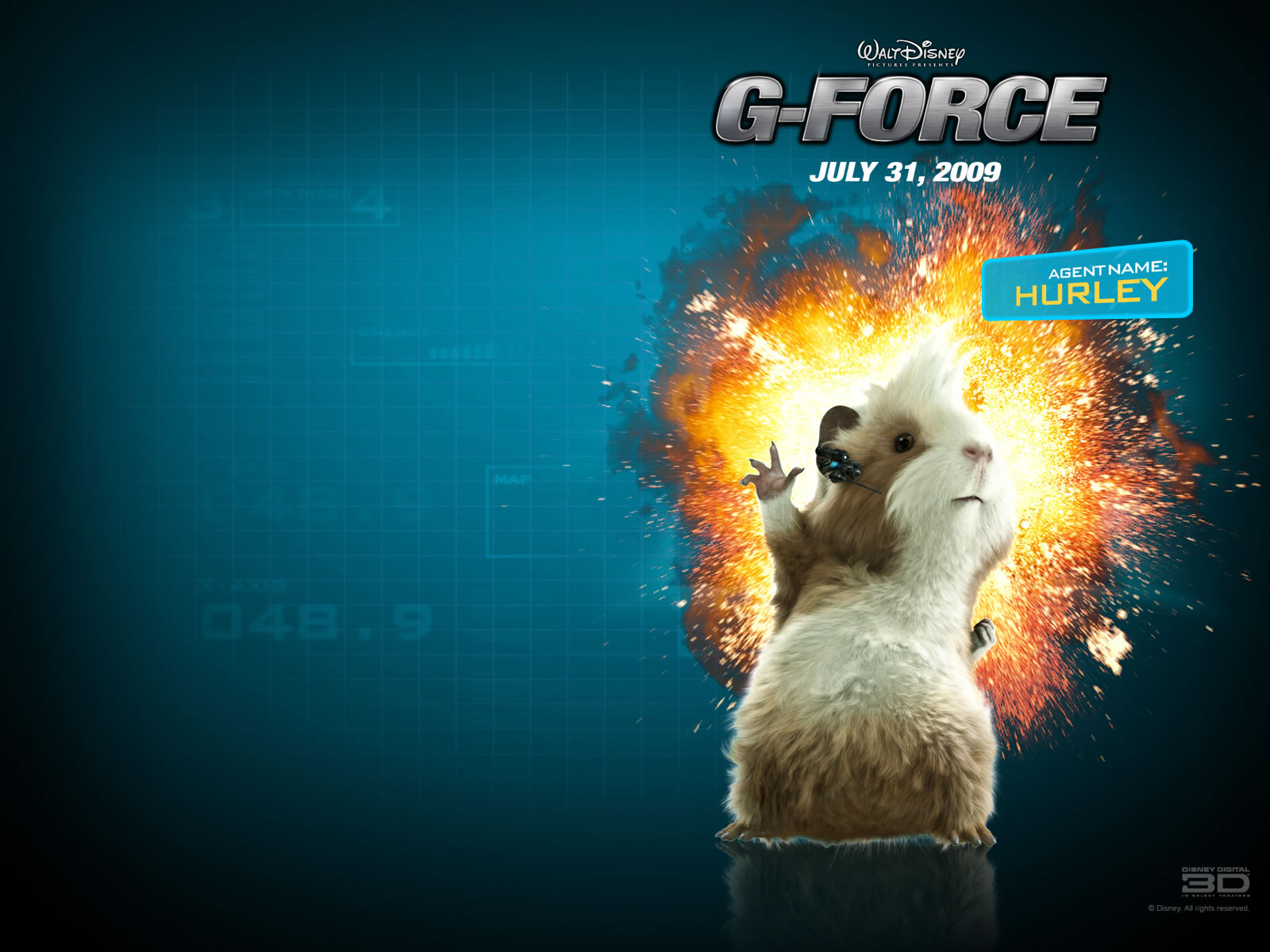 G-Force wallpaper : Hurley