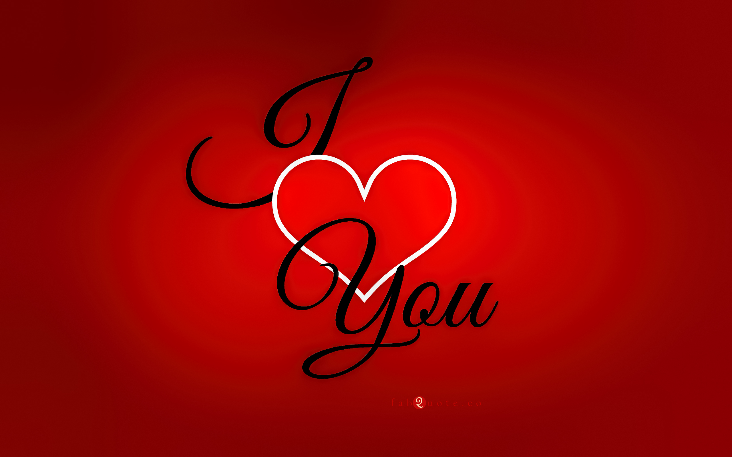 ... Valentine's Day Card - I Love You ...