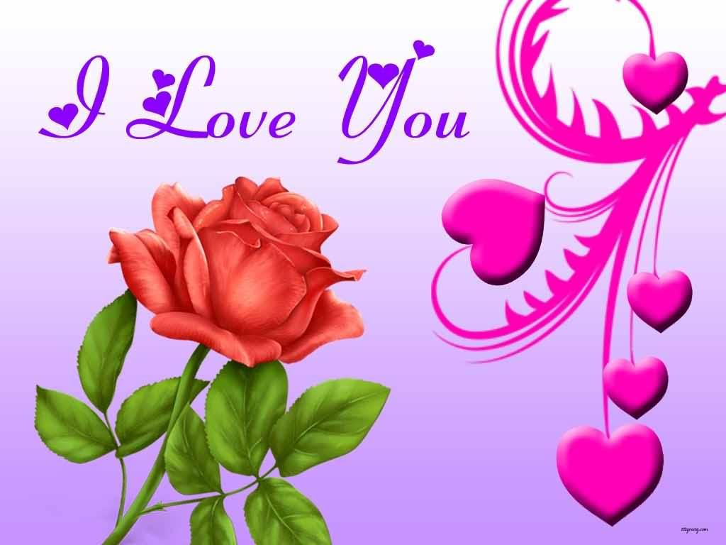 I Love You wallpaper 1024x768 #43288