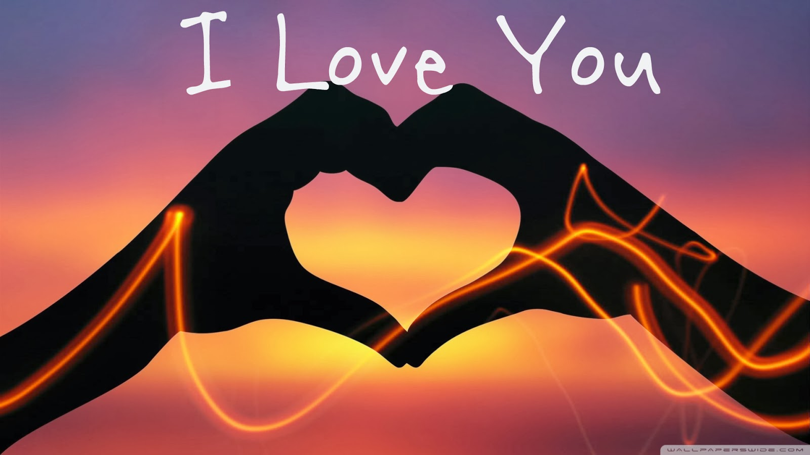 Wallpaper Love You 3d : I Love You wallpaper 1600x900 #43292