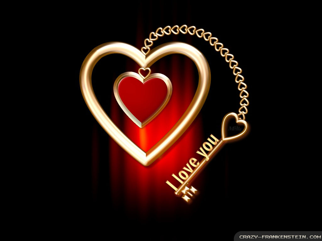 i love you heart full HD wallpaper Wallpaper