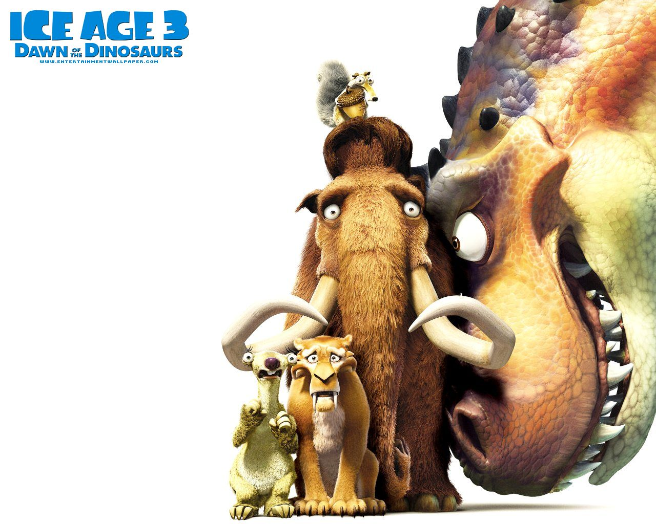 ... dinosaurs Ice Age 3!