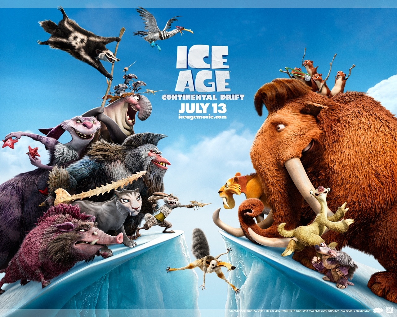 ice age 4 wallpaper – 1280 x 1024 pixels – 1 MB