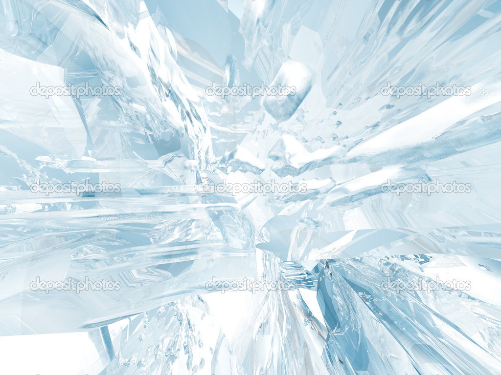 Beautiful blue textured abstract background of ice — Photo by ivn3da