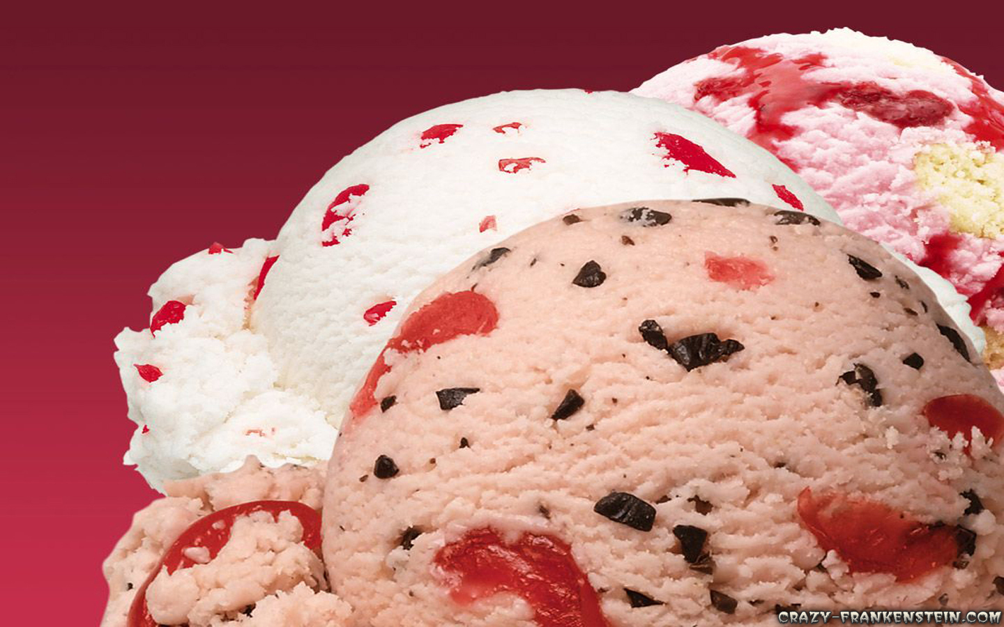 Wallpaper: Nice vanilla punch strawberry ice cream. Resolution: 1024x768 | 1280x1024