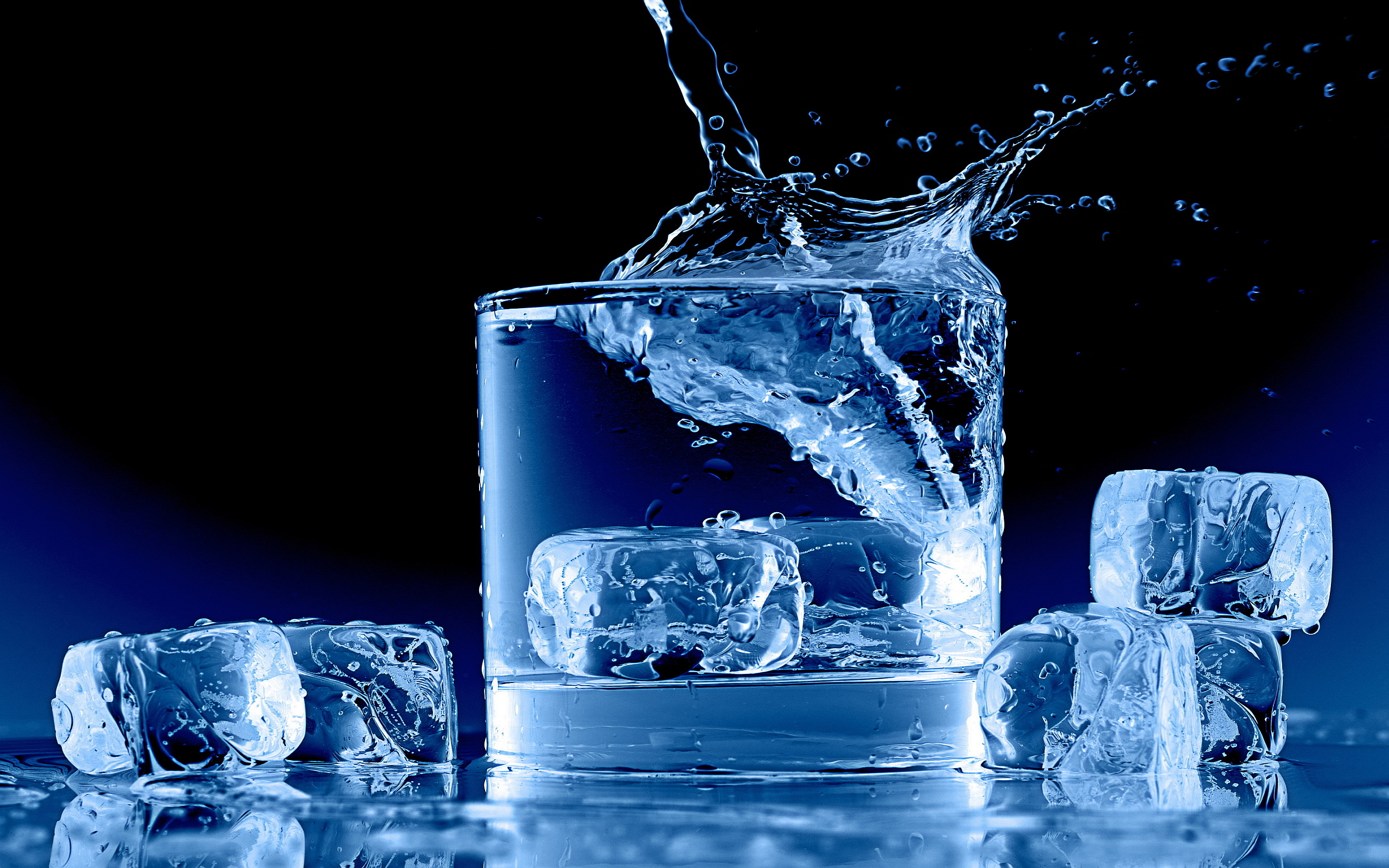 Ice splash drink Wallpapers Pictures Photos Images · «