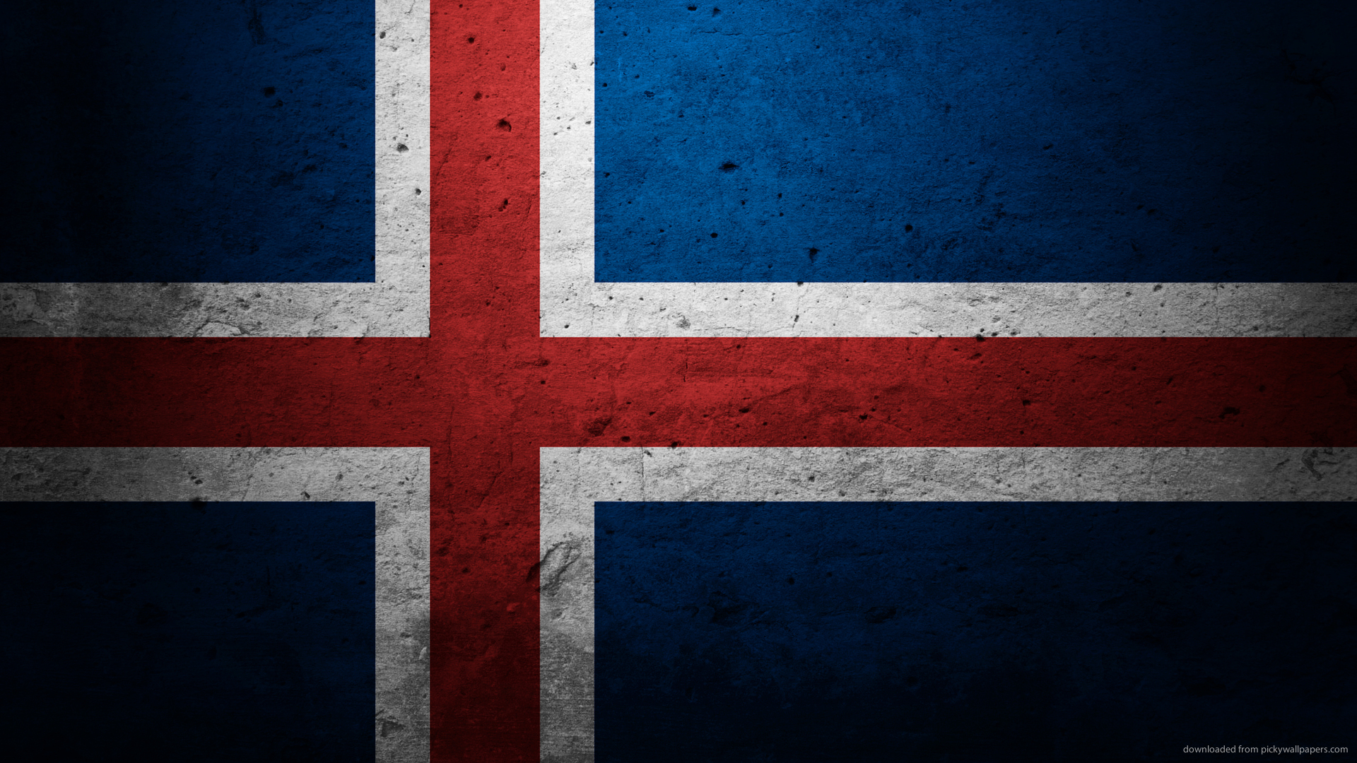 Iceland Flag Wallpaper
